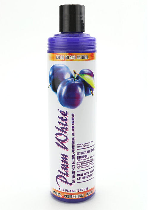 Plum White Shampoo by Kelco 50:1 - 11.7oz