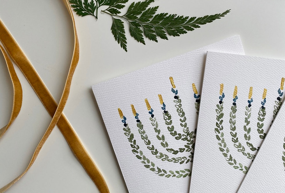 Chanukah Holiday Cards