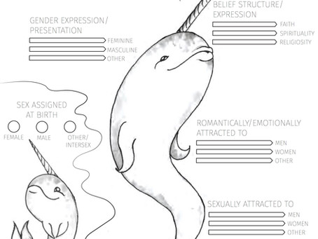 The inQUEERy Narwhal