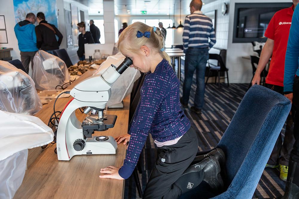 Research on board MS Spitsbergen