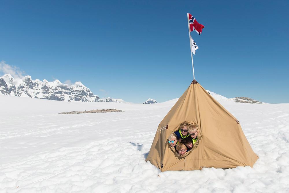Young Explorers in Antarctica Hurtigruten