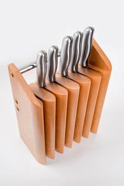 Подставка для ножей КРАУН
