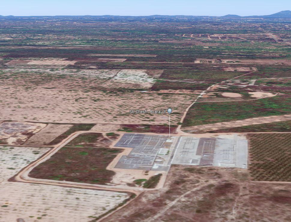 Visualizacao landscape da subestação