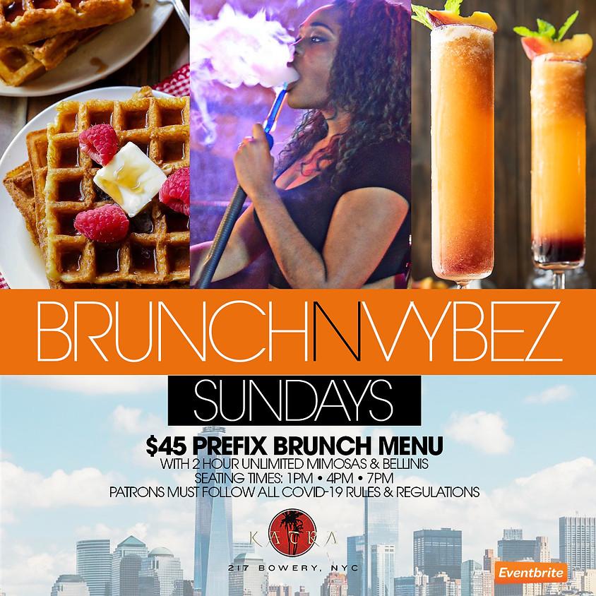 "CEO FRESH PRESENTS: ""BRUNCH N VYBEZ""  BRUNCH & DINING EVERY SUNDAY @KATRA NYC"