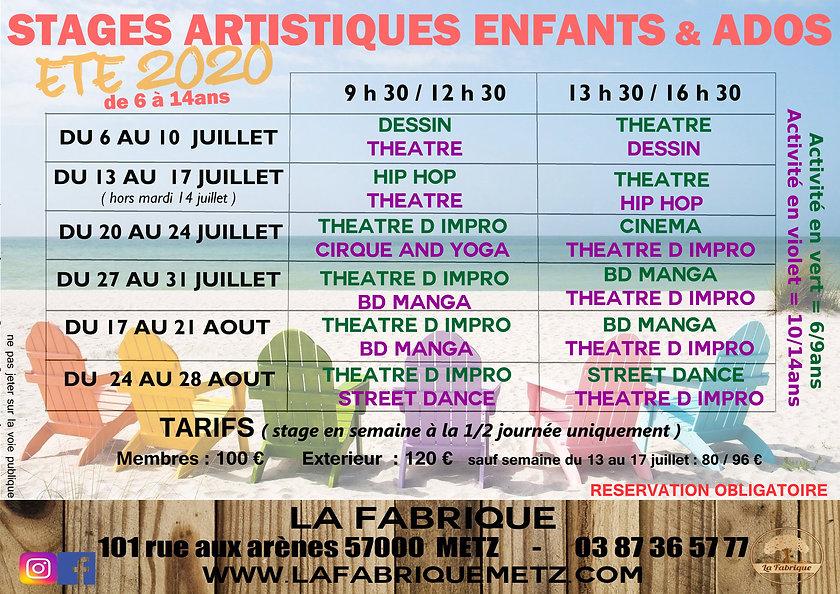 flyer_stages_enfants_et_ados_été_2020.