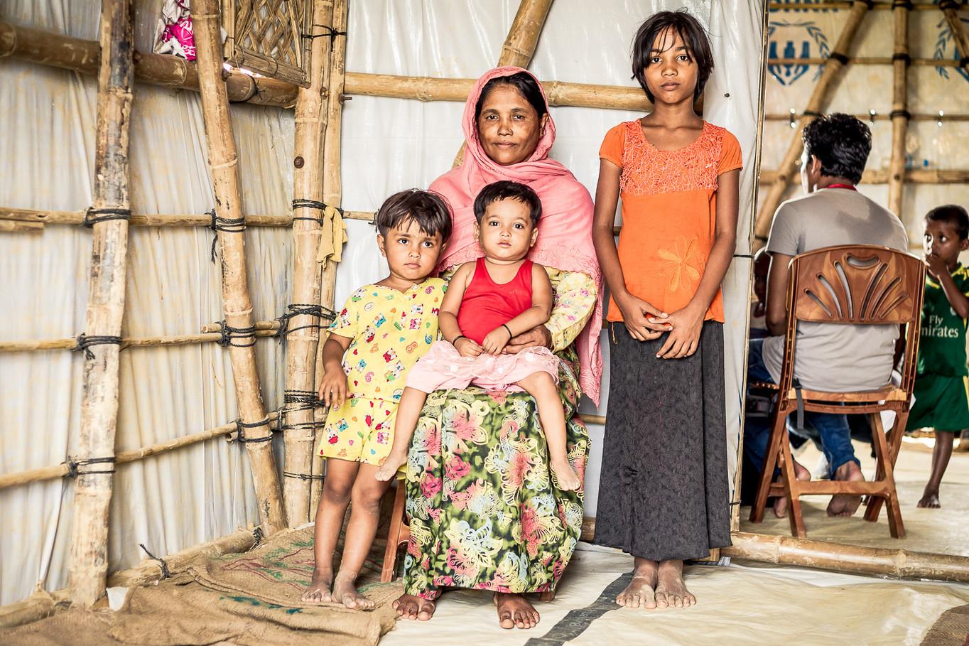 La famille d'Assamala
