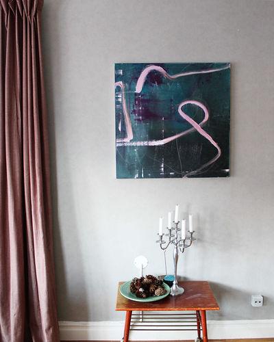 original abstrakt konst till salu i dala