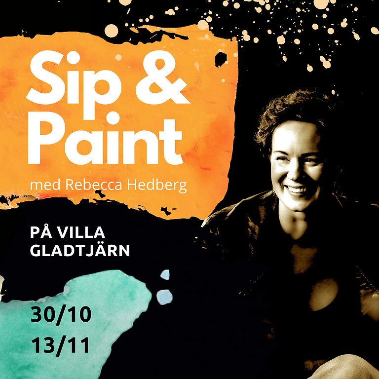 Sip & Paint Villa Gladtjärn