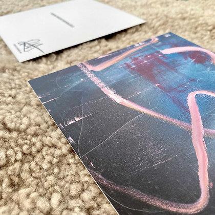 Konstkort Rosa Bandet