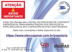 Contrato Emergencial - Papelaria