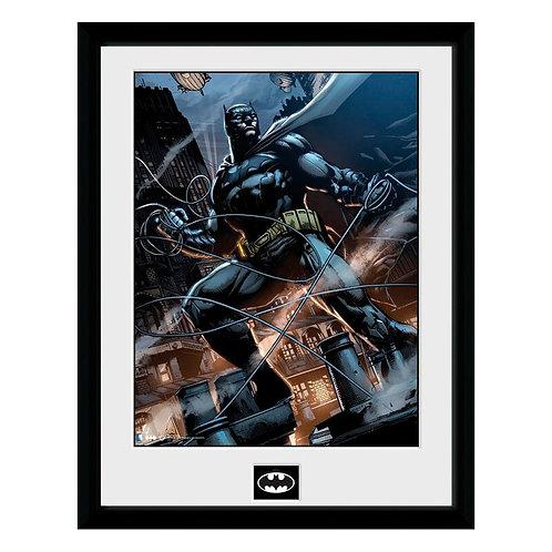 DC Batman Batman kötéllel keretezett fotó