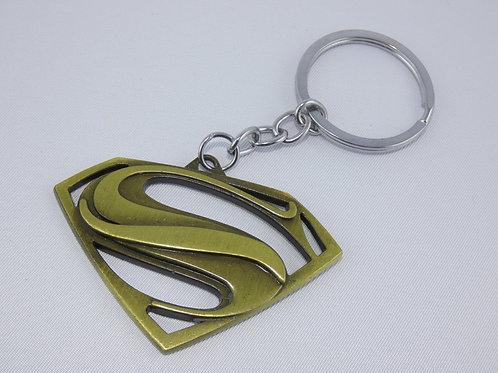 Superman fém kulcstartó