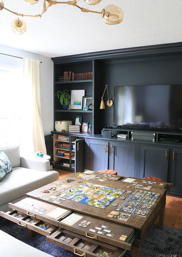 Társasjáték szoba