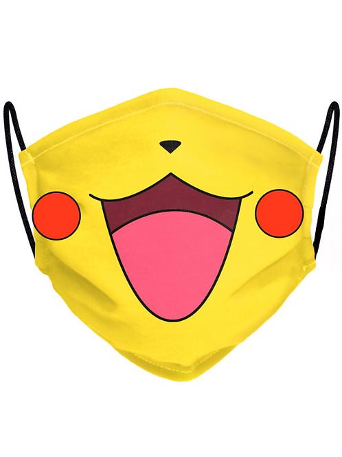 Pikachu arcmaszk