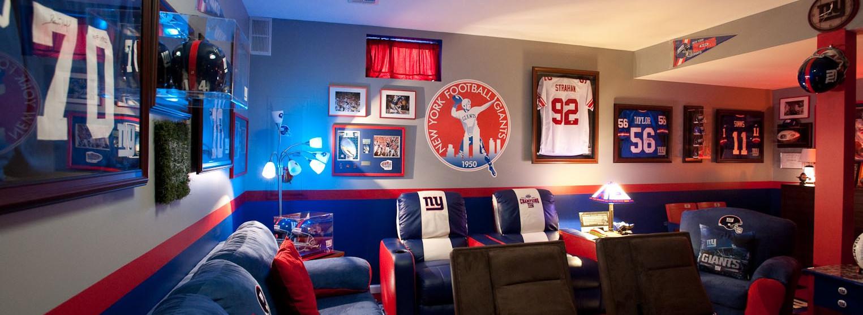 NFL szurkolói szoba