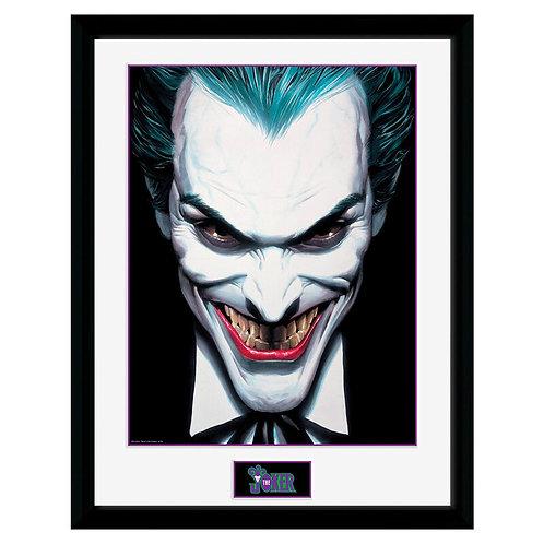 DC Batman Joker portré keretezett kép 40x30cm