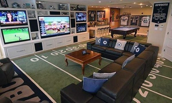 Meccsnéző és szport szoba