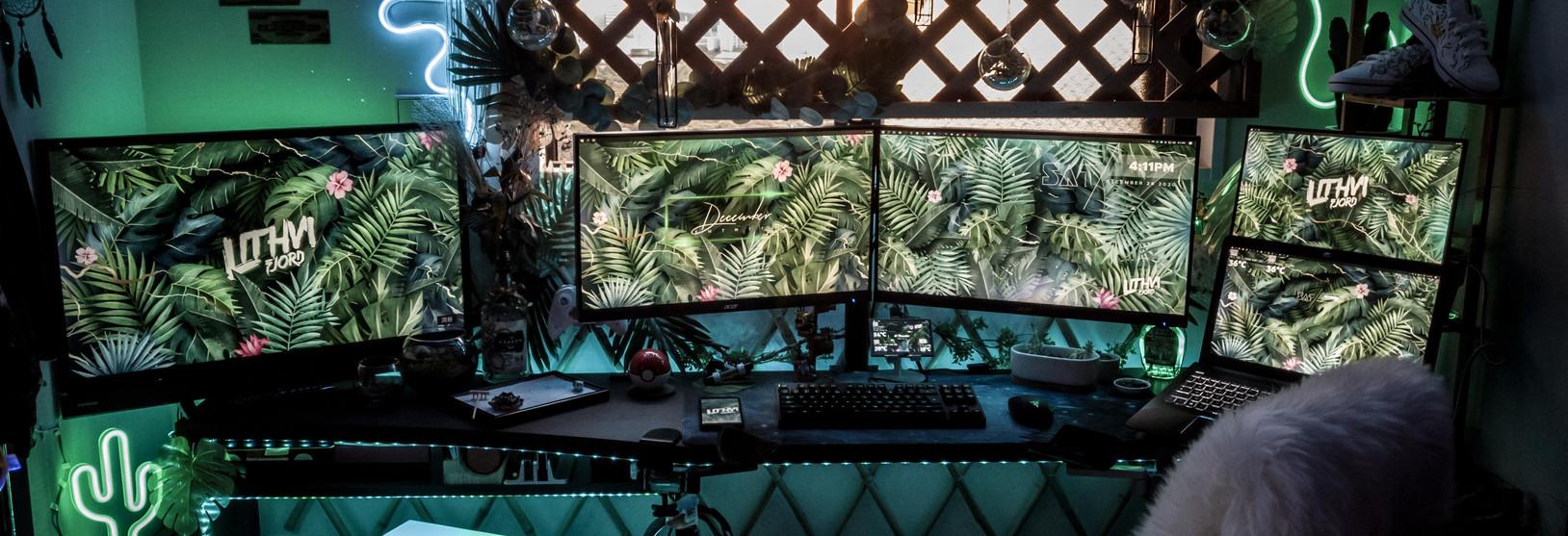 Gamer szoba