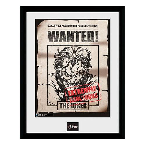 DC BAtman joker wanted keretezett kép