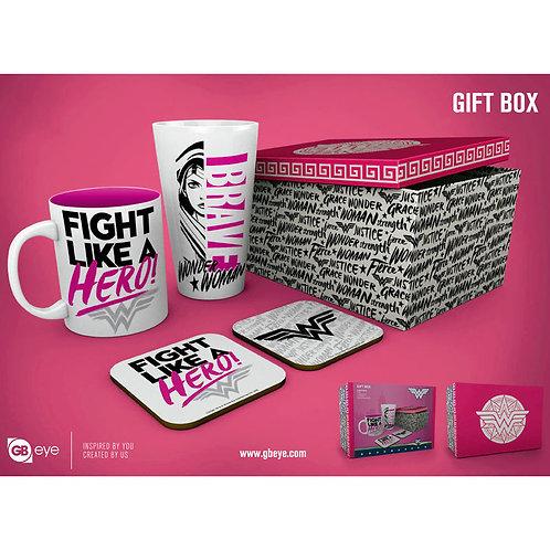 DC Wonderwomen ajándék doboz