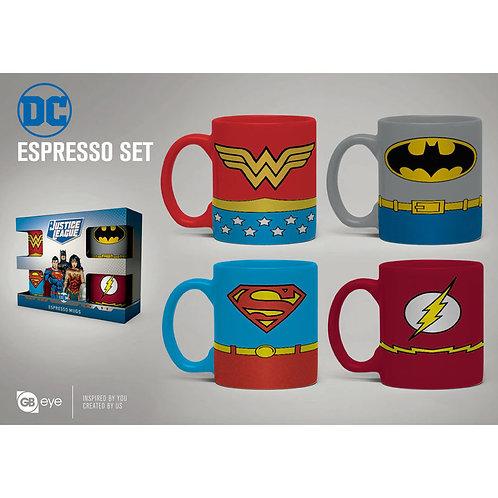 DC espresso mini bögre 4 db-os szett