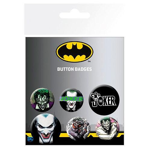 DC Batman Joker kitűző 6-os csomag