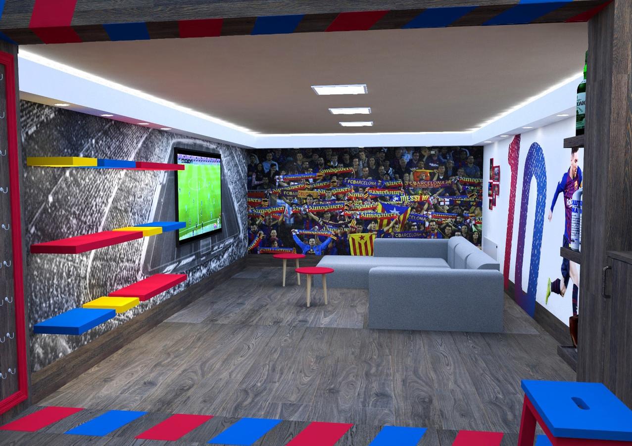 Meccsnéző szoba
