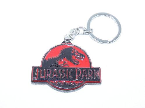 Jurassic Park fém kulcstartó