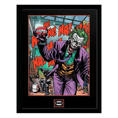 DC Batman Joker fogak keretezett kép