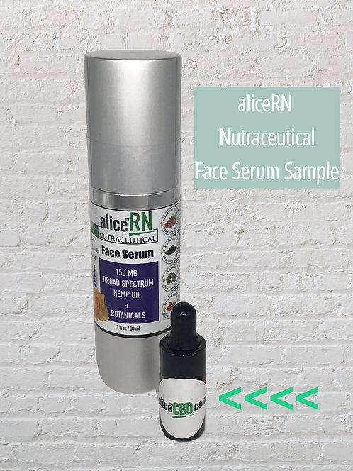 aliceRN Nutraceutical SAMPLE Face Serum