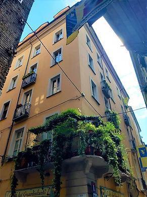 Affitto monolocale mansardato via Barbaroux Torino