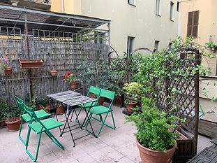 Affitto bilocale con terrazzo via Bellezia Torino