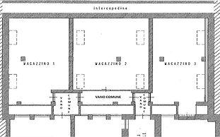 Vendita magazzino Quadrilatero Torino