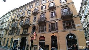 Affitto monolocale mansardato via Mazzini 4 Torino