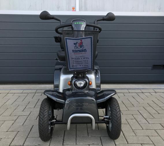 Mezzo grijs front Scootmobiel Steenwijk.
