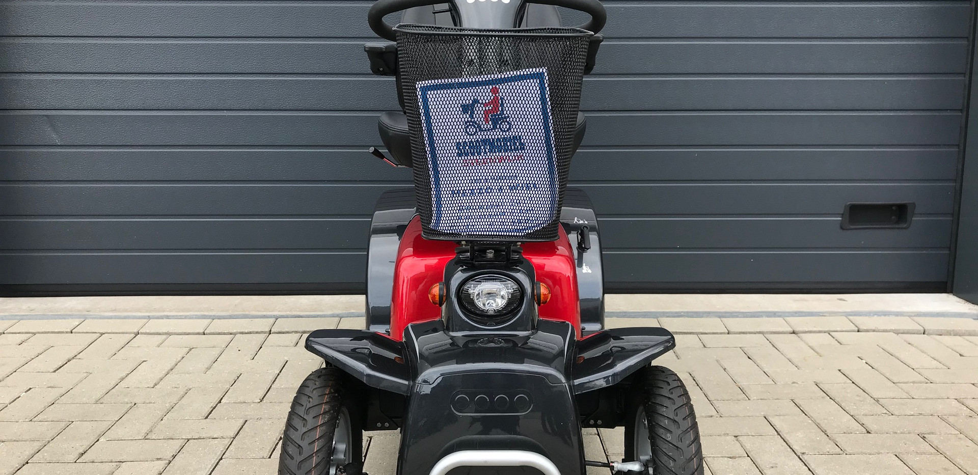 Mezzo rood front Scootmobiel Steenwijk.j
