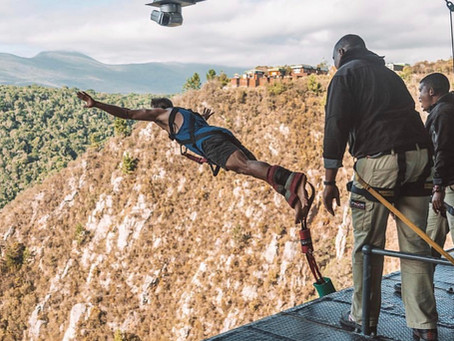 BUNGEE JUMP EN SUDÁFRICA.