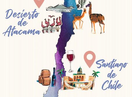 ITINERARIO PARA 2 SEMANAS EN CHILE.
