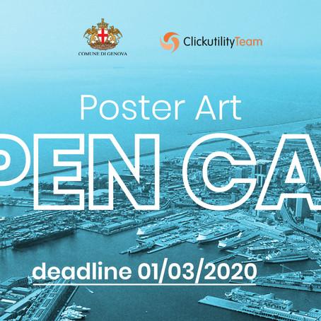 Contest Poster Art - Genova Blue Street 2020