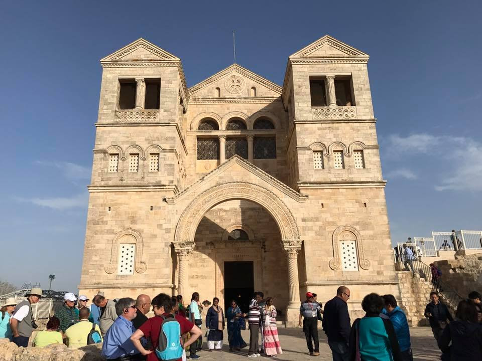 Below:  Basilica of the Transfiguration