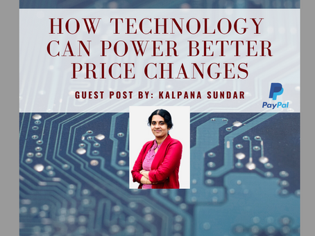 How Technology can power better price changes