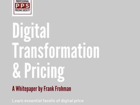 Digital Transformation & Pricing