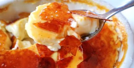 Crème brûlee au miel