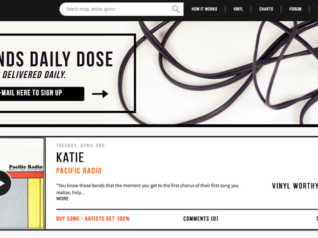 Feedbands.com Features Pacific Radio on Daily Dose