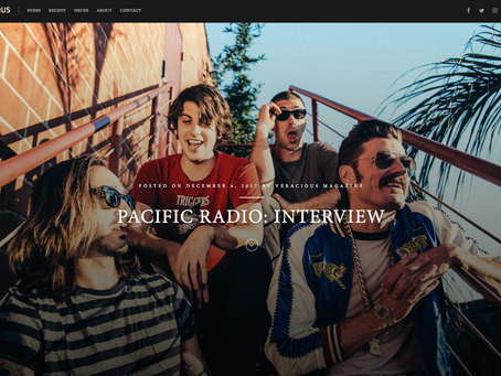 Veracious Magazine Interview