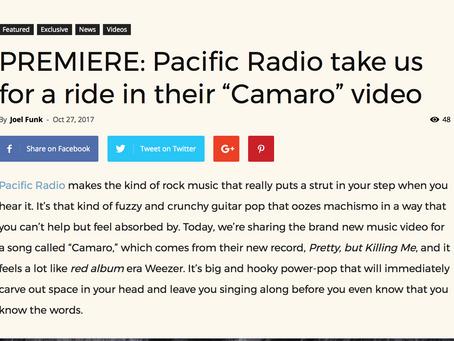 "Substream Magazine Debuts ""Camaro"" Video"