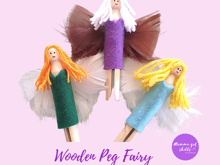 Wooden Peg Fairies