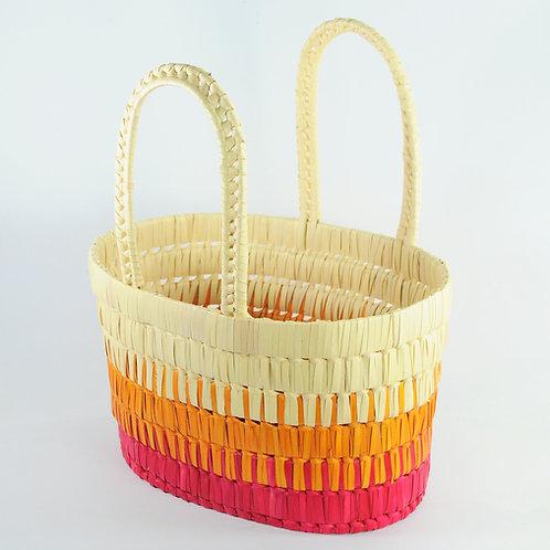 Shading Basket{Maroon}