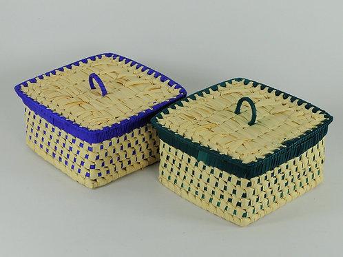 Chocolate Square Box (2 pieces)