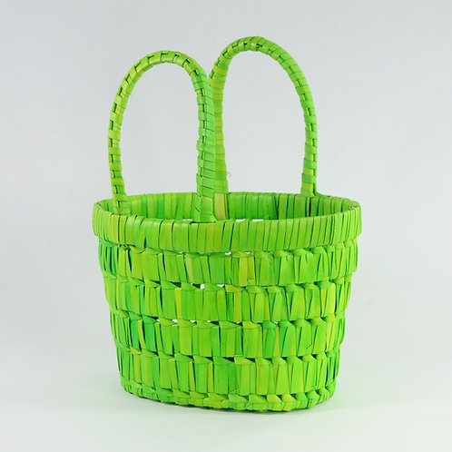Fancy Basket{Light-Green}